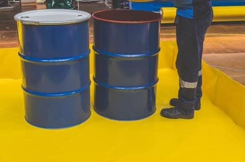 spill-bunds